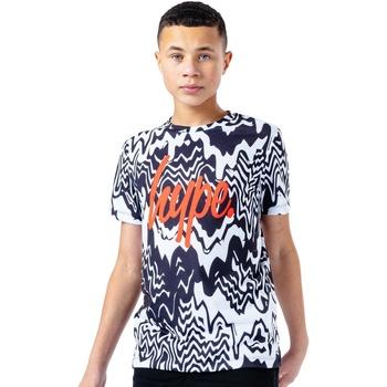 Abbigliamento Unisex bambino T-shirt maniche corte Hype  Nero