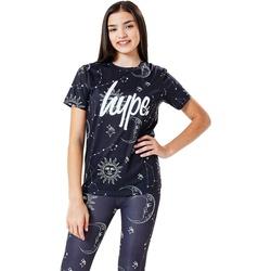Abbigliamento Unisex bambino T-shirt maniche corte Hype  Nero/Bianco