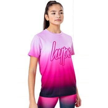 Abbigliamento Unisex bambino T-shirt maniche corte Hype  Rosa