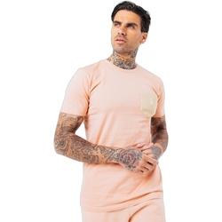 Abbigliamento Uomo T-shirt maniche corte Hype  Rosso