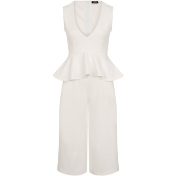 Abbigliamento Donna Tuta jumpsuit / Salopette Girls On Film  Bianco