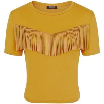 Abbigliamento Donna T-shirt maniche corte Girls On Film  Multicolore