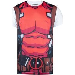 Abbigliamento Uomo T-shirt maniche corte Deadpool  Rosso