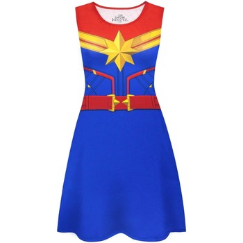 Abbigliamento Donna Abiti corti Captain Marvel  Multicolore