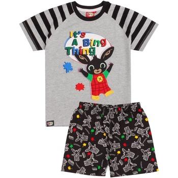 Abbigliamento Bambino Pigiami / camicie da notte Bing Bunny  Nero
