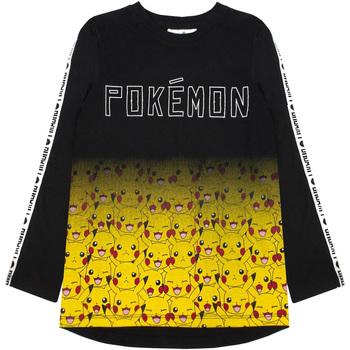 Abbigliamento Bambino T-shirts a maniche lunghe Pokemon  Multicolore