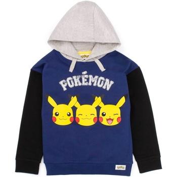 Abbigliamento Bambino Felpe Pokemon  Blu