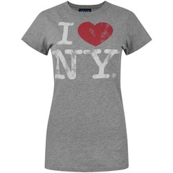 Abbigliamento Donna T-shirt maniche corte Junk Food  Grigio