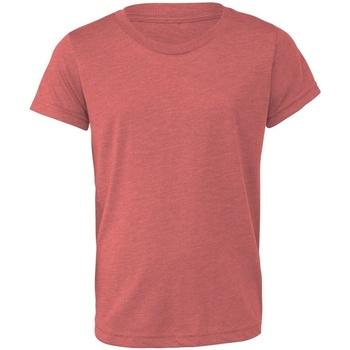 Abbigliamento Unisex bambino T-shirt & Polo Bella + Canvas CA3413Y Malva Triblend