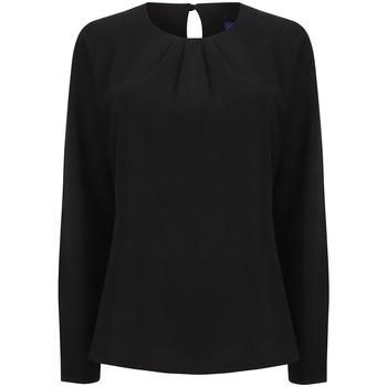 Abbigliamento Donna T-shirts a maniche lunghe Henbury HB598 Nero