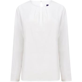 Abbigliamento Donna T-shirts a maniche lunghe Henbury HB598 Bianco