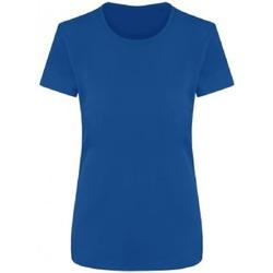 Abbigliamento Donna T-shirt maniche corte Ecologie EA04F Blu reale