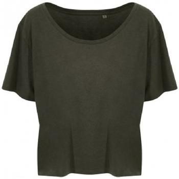 Abbigliamento Donna T-shirt maniche corte Ecologie EA002F Verde