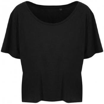 Abbigliamento Donna T-shirt maniche corte Ecologie EA002F Nero
