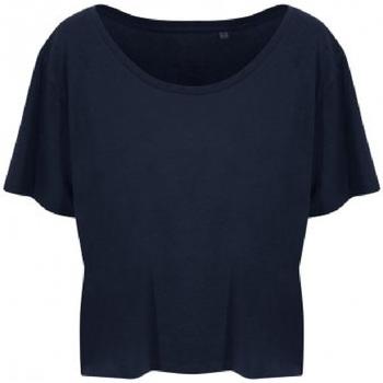 Abbigliamento Donna T-shirt maniche corte Ecologie EA002F Blu navy