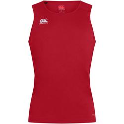 Abbigliamento Uomo Top / T-shirt senza maniche Canterbury CN261 Rosso