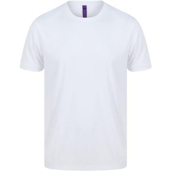 Abbigliamento Uomo T-shirt maniche corte Henbury H024 Bianco