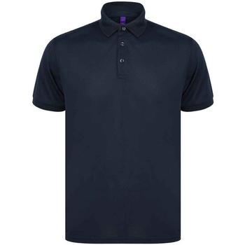 Abbigliamento Uomo Polo maniche corte Henbury H465 Blu navy