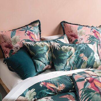 Casa Federa cuscino, testata Linen House RV1738 Multicolore