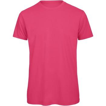 Abbigliamento Uomo T-shirt maniche corte B And C BA118 Fucsia
