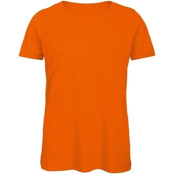 Abbigliamento Uomo T-shirt maniche corte B And C BA118 Arancio