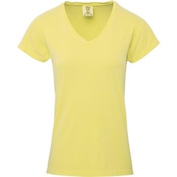 Abbigliamento Donna T-shirt maniche corte Comfort Colors CO011 Burro