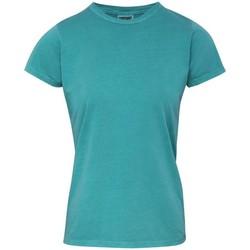 Abbigliamento Donna T-shirt maniche corte Comfort Colors CO010 Spuma marina