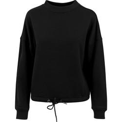 Abbigliamento Donna Felpe Build Your Brand BY058 Nero