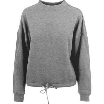 Abbigliamento Donna Felpe Build Your Brand BY058 Grigio