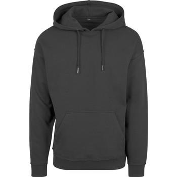 Abbigliamento Uomo Felpe Build Your Brand BY074 Nero