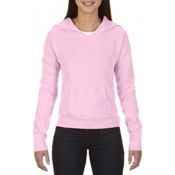 Abbigliamento Donna Felpe Comfort Colors CO052 Rosa chiaro