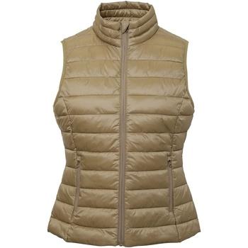 Abbigliamento Donna Gilet / Cardigan 2786 TS31F Cachi