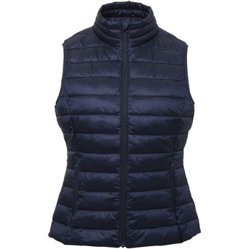 Abbigliamento Donna Gilet / Cardigan 2786 TS31F Blu navy