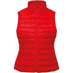 Abbigliamento Donna Gilet / Cardigan 2786 TS31F Rosso