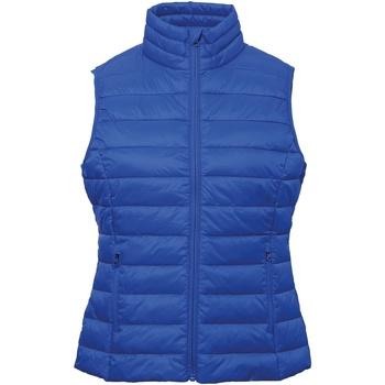 Abbigliamento Donna Gilet / Cardigan 2786 TS31F Blu reale