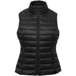 Abbigliamento Donna Gilet / Cardigan 2786 TS31F Nero