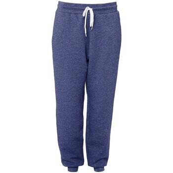 Abbigliamento Pantaloni da tuta Bella + Canvas BE126 Blu