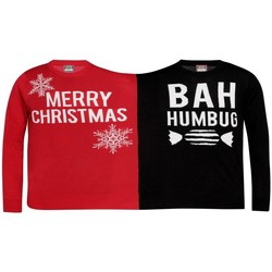 Abbigliamento Felpe Christmas Shop  Rosso/nero.