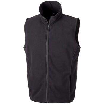 Abbigliamento Gilet / Cardigan Result R116X Nero