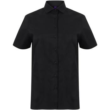 Abbigliamento Donna Camicie Henbury HB538 Nero
