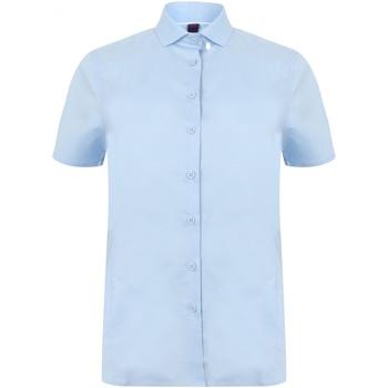 Abbigliamento Donna Camicie Henbury HB538 Azzurro