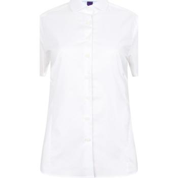 Abbigliamento Donna Camicie Henbury HB538 Bianco