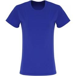 Abbigliamento Donna T-shirt maniche corte Tridri TR024 Blu Reale