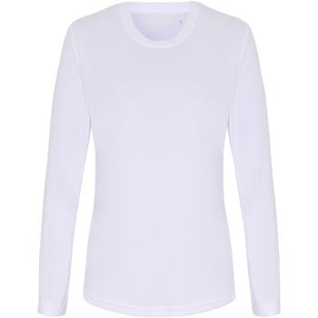 Abbigliamento Donna T-shirts a maniche lunghe Tridri TR060 Bianco