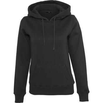Abbigliamento Donna Felpe Build Your Brand BY026 Nero