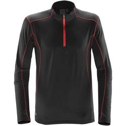 Abbigliamento Uomo Felpe Stormtech ST177 Nero/Rosso