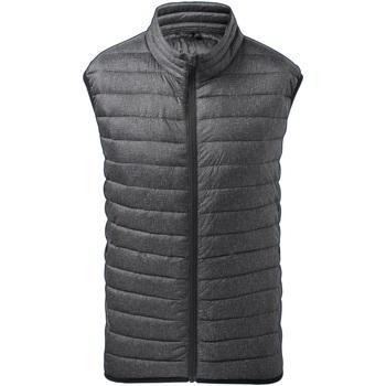 Abbigliamento Uomo Gilet / Cardigan 2786 TS038 Carbone