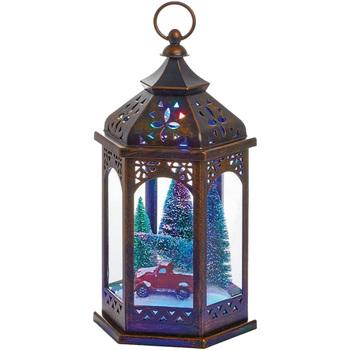 Casa Decorazioni natalizie Christmas Shop RW7397 Marrone
