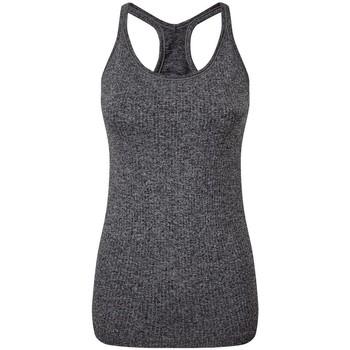 Abbigliamento Donna Top / T-shirt senza maniche Tridri TR217 Nero Screziato