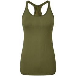 Abbigliamento Donna Top / T-shirt senza maniche Tridri TR217 Oliva